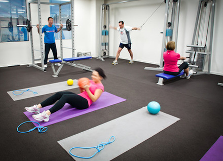 working with a personal trainer in hawthorn